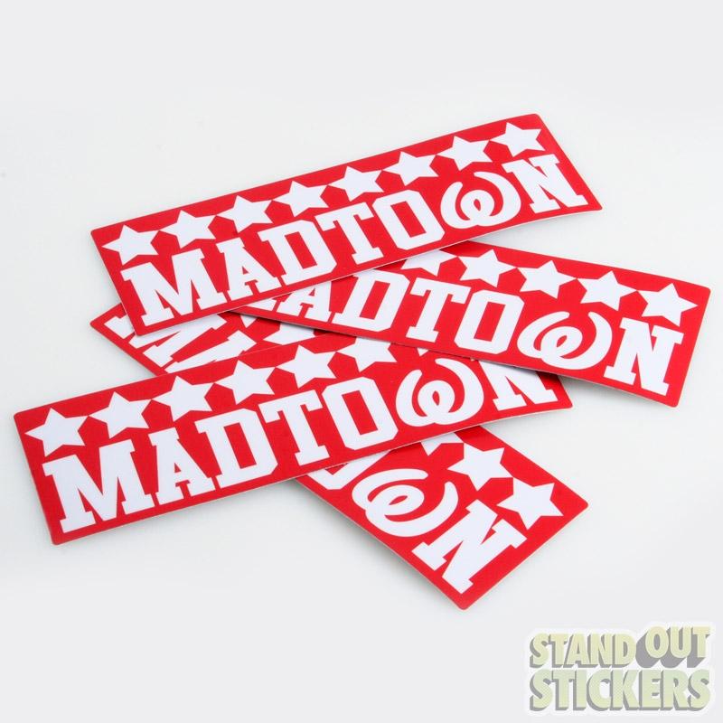 Order custom stickers order die