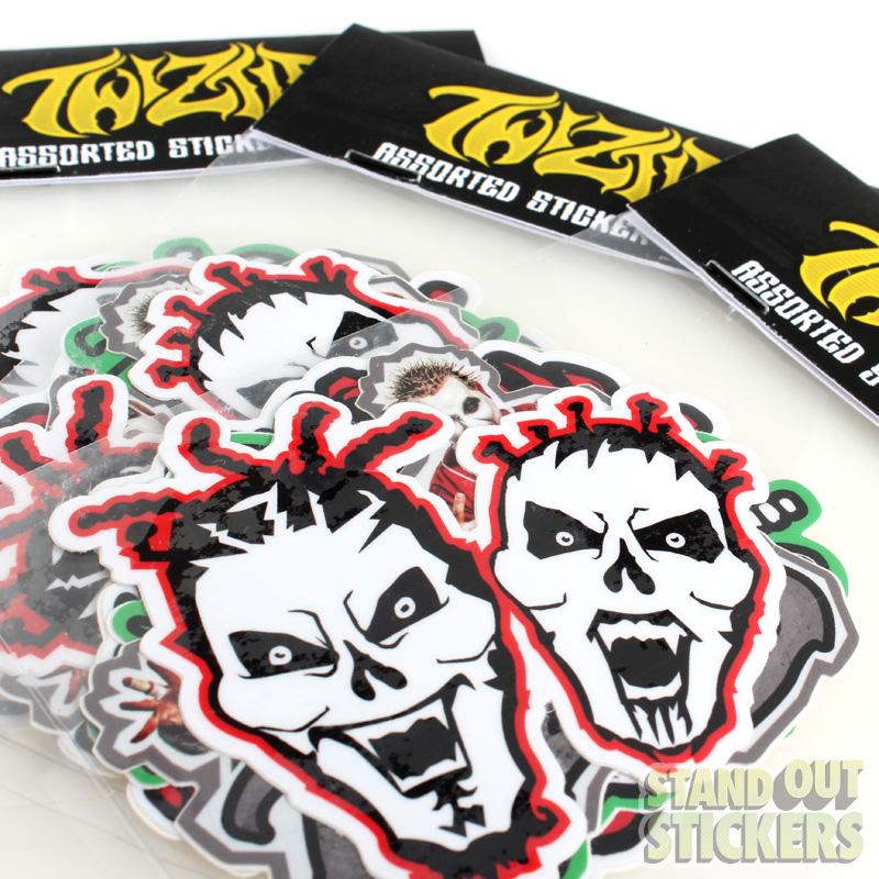 Vinyl Sticker Packs Samples StandOut Stickers - Custom vinyl stickers