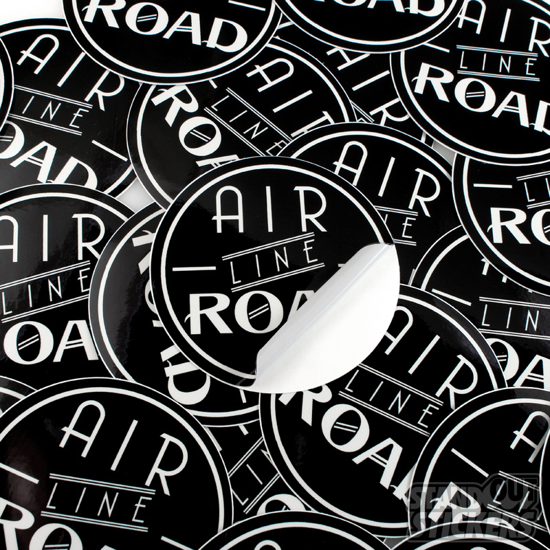 Custom Round Stickers StandOut Stickers - Custom vinyl stickers
