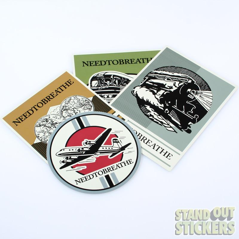 Circle Vinyl Stickers Samples Round Sticker Examples - Custom round vinyl decals