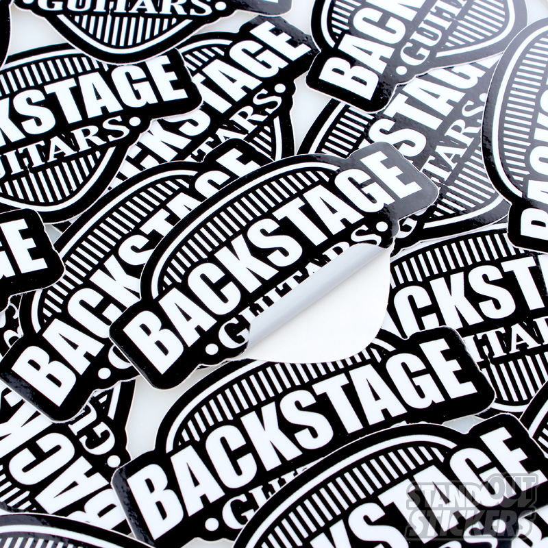 Die Cut Stickers Custom Sticker Samples