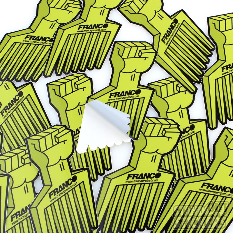 how to make die cut vinyl stickers
