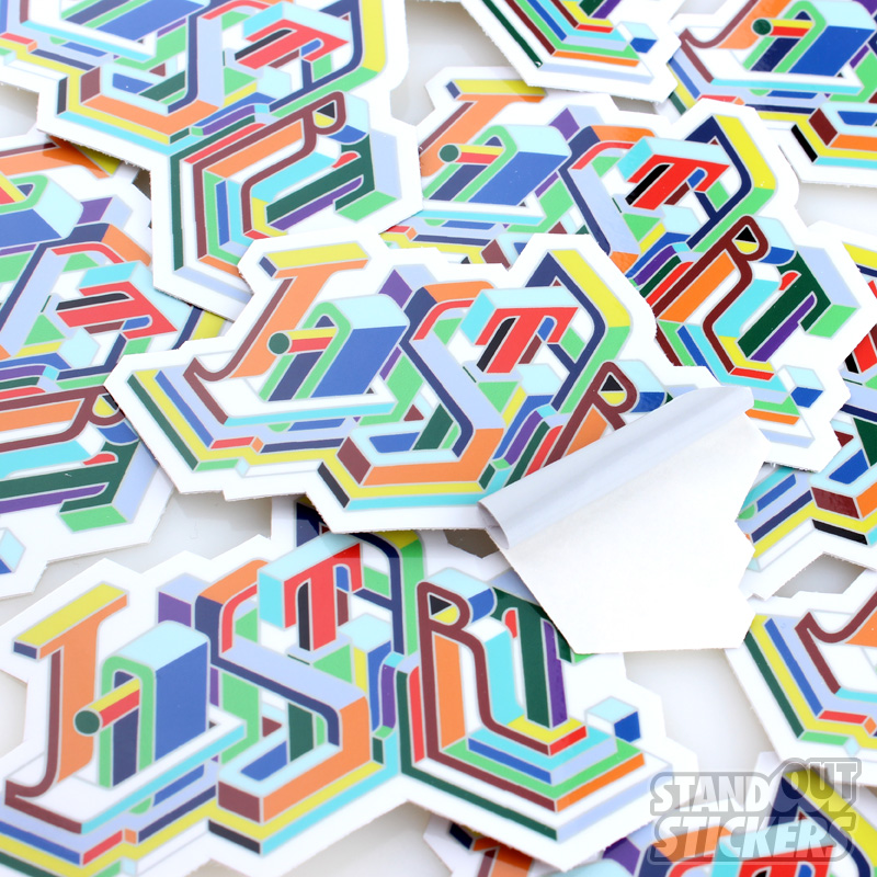 Your own die cut stickers order