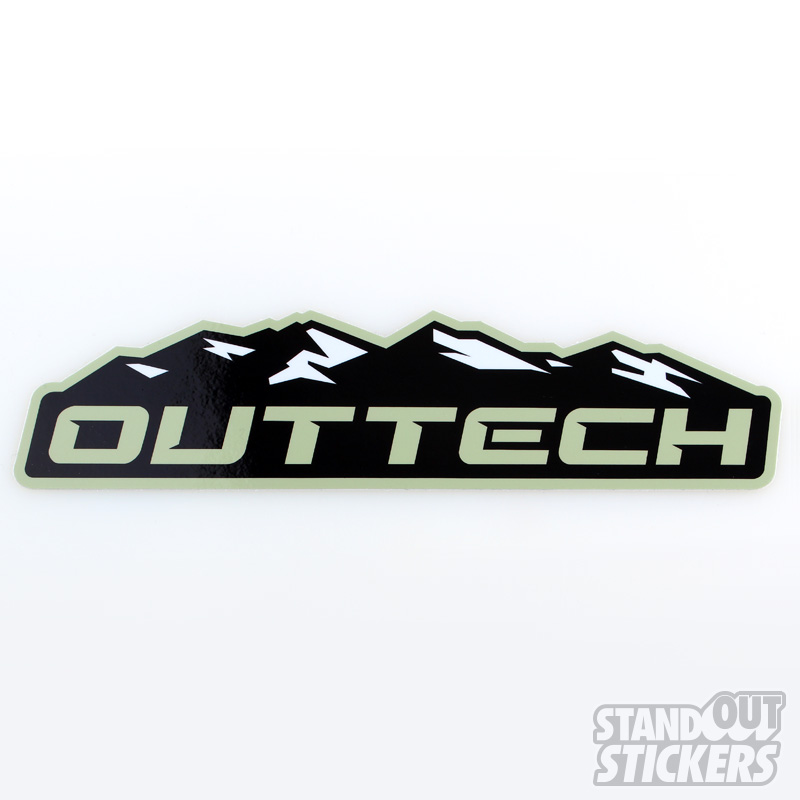 Die Cut Stickers Custom Sticker Samples - Custom vinyl decals die cutcustom vinyl decals standout stickers