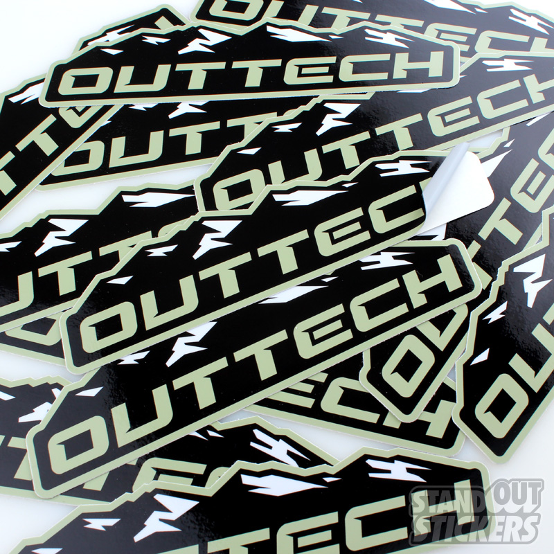 Die cut stickers order custom