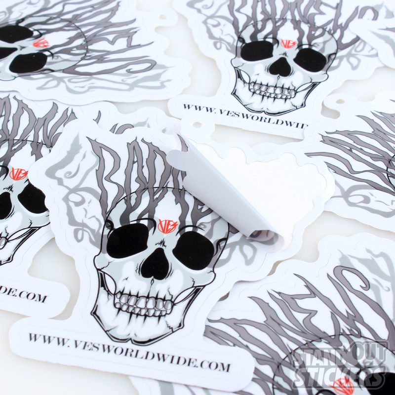 Die Cut Stickers Custom Sticker Samples - What are custom die cut stickers
