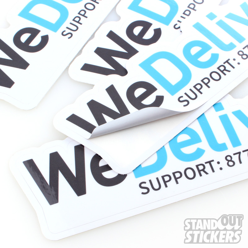Die cut stickers order