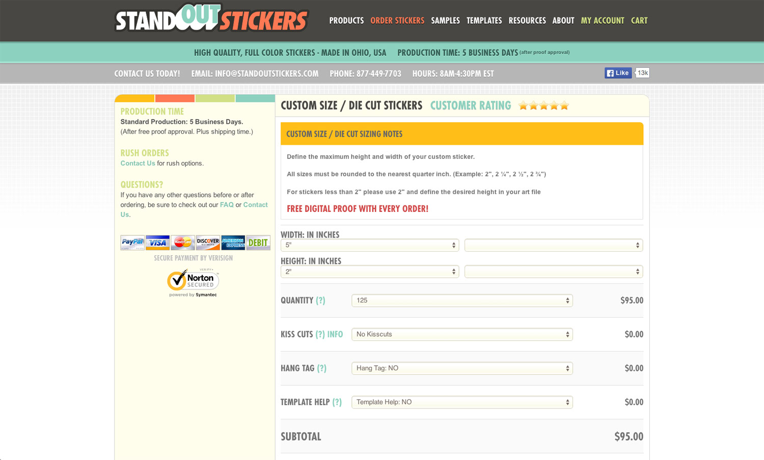 How To Order Stickers - Order custom stickers