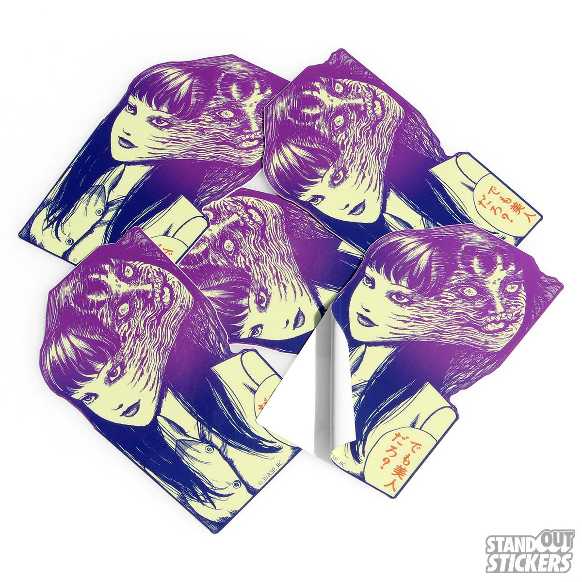 Die cut vinyl custom stickers